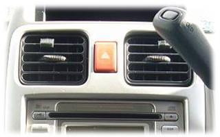 エアコンのフィルター交換