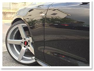 XYZ車高調と20インチアルミに交換